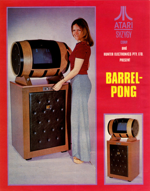 Atari's Barrel Pong — Boring Game, Great Conversation Piece