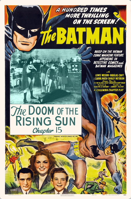 "Saturday Serials: ""The Doom of the Rising Sun"" (Batman 1943, Chapter 15)"