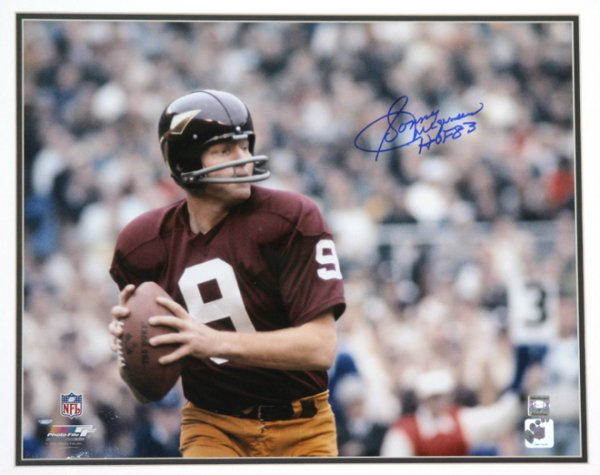 Sonny Jurgensen (Washington Redskins)