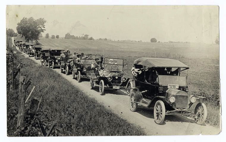 "The Farmer's Automobile Collection - ""Toilers of Land and Sea"""