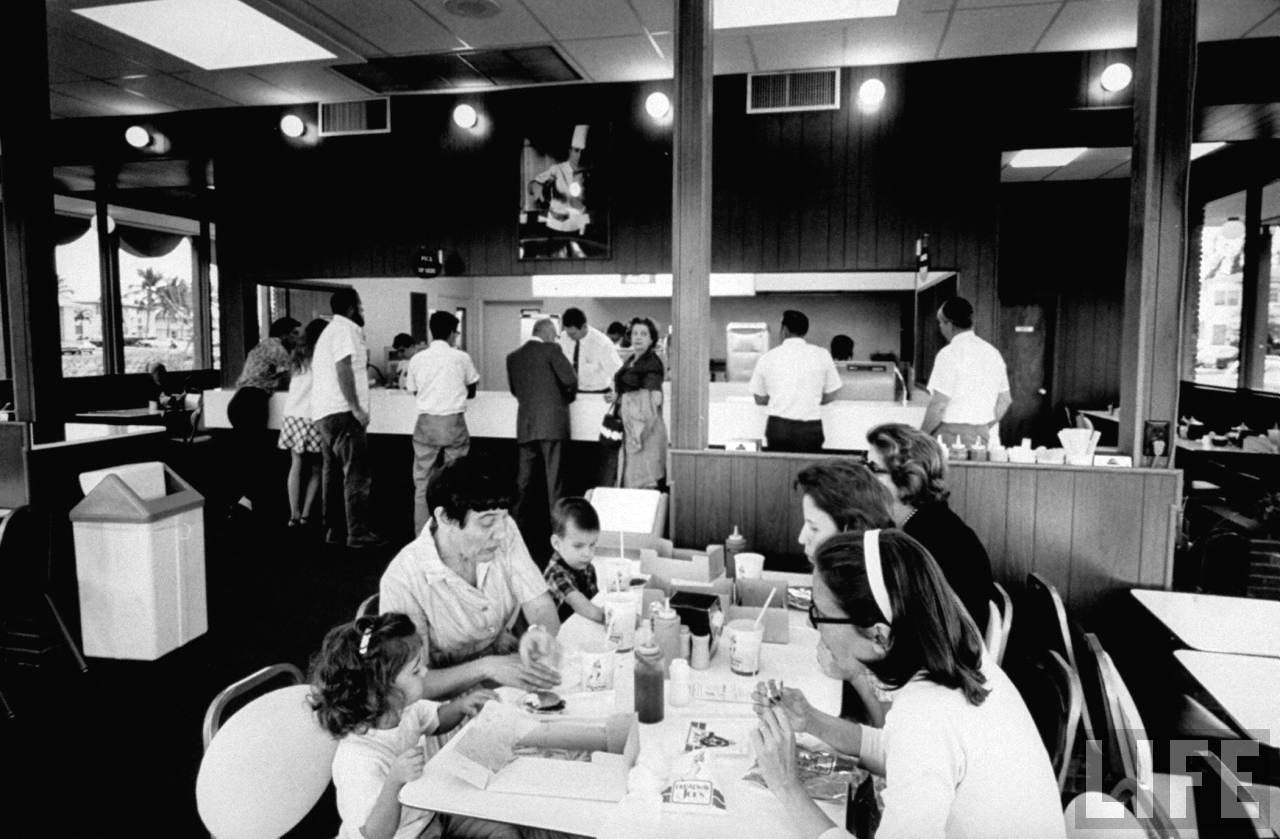 Broadway Joe's Restaurant - Miami, Florida, 1969