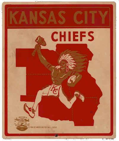 Kansas City Chiefs Logo (1963 - 1971)