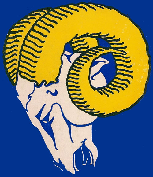 Cleveland/Los Angeles Rams logo (1940 - 1980)