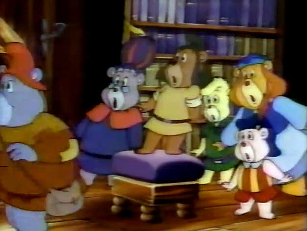 NBC 1985 Saturday Morning Cartoon Preview - Disney's Adventures of the Gummi Bears