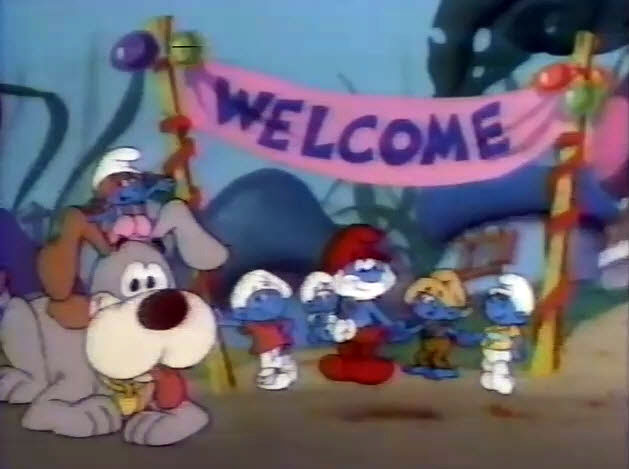 NBC 1985 Saturday Morning Cartoon Preview - The Smurfs