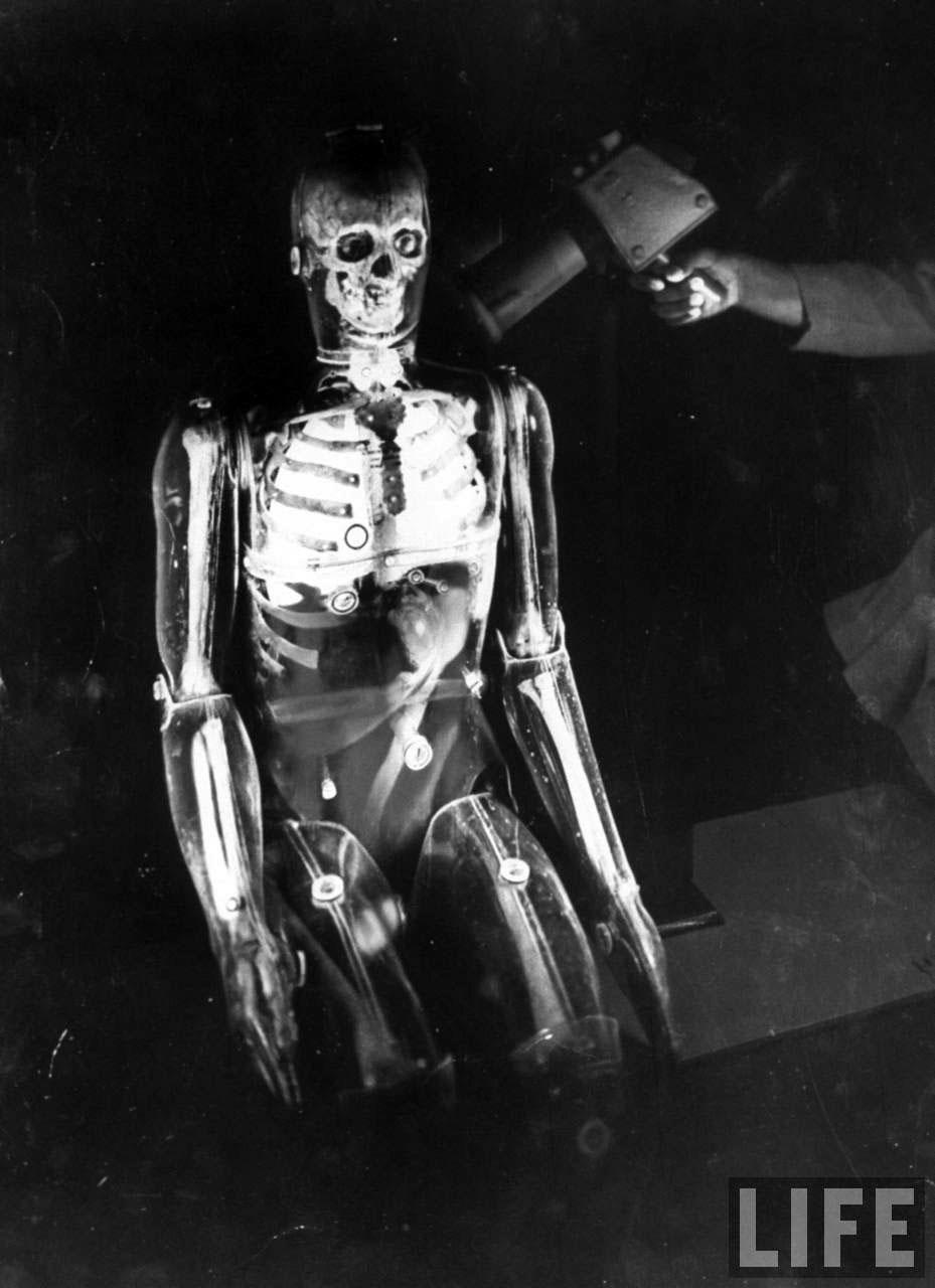 Vintage Photograph of a U.S. Radiation Dummy, 1961
