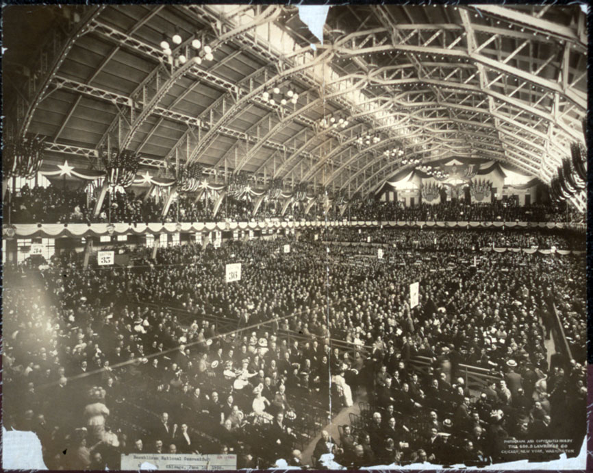 Republican National Convention, Coliseum, Chicago, June 16, 1908