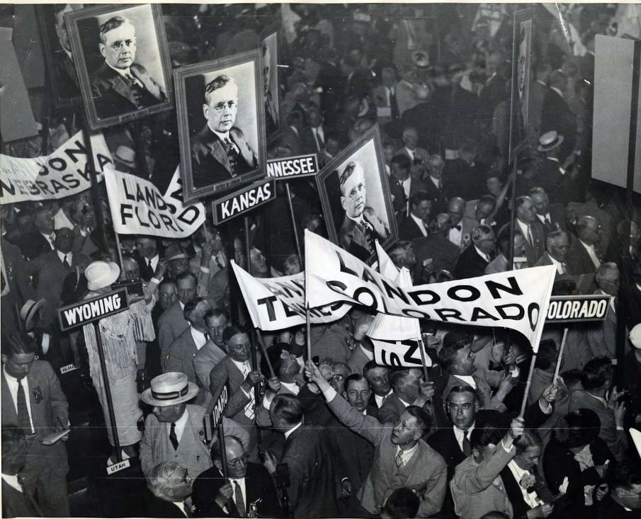1936 Republican National Convention - Alf Landon Supporters