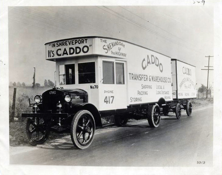 "The Pageant of America Collection - ""Automobile Moving Van"""