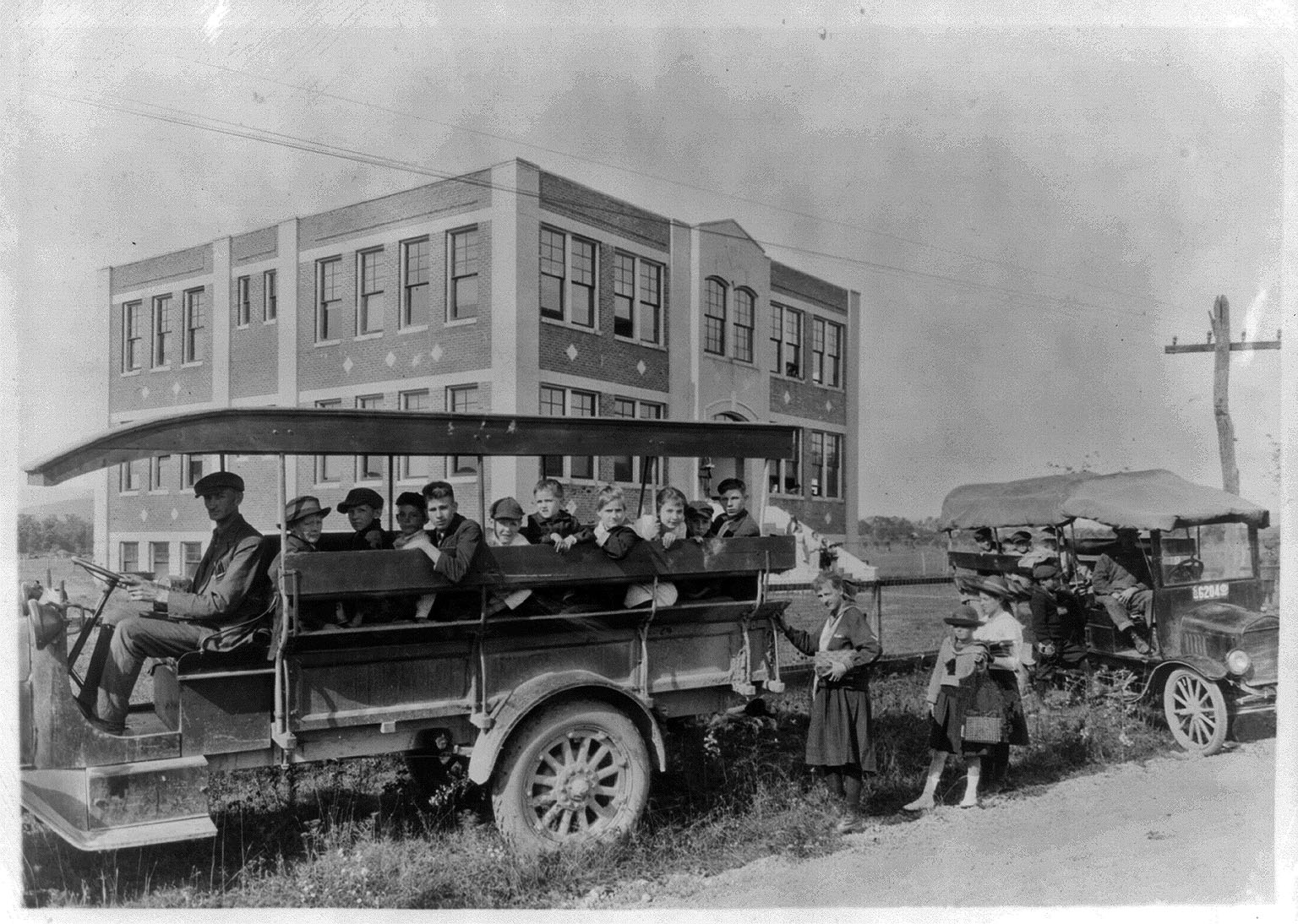 Greenbank Consolidated School, 1921