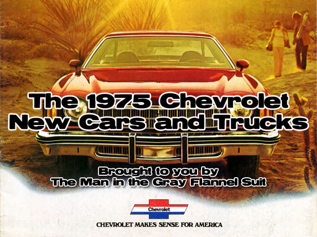 Retrotisements — 1975 Chevrolet New Car and Truck Lineup