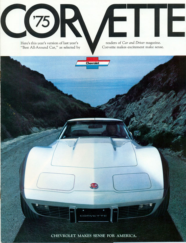 1975 Chevy Corvette ad