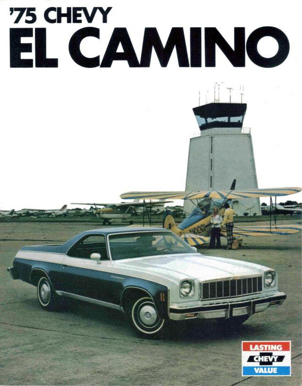 1975 Chevrolet El Camino brochure page