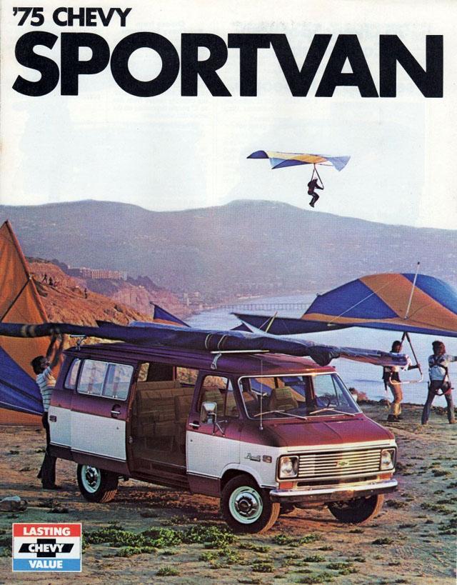 1975 Chevrolet Sportvan Brochure (Chevy)