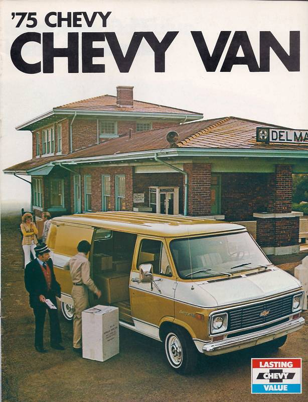 1975 Chevrolet Van Brochure (Chevy)
