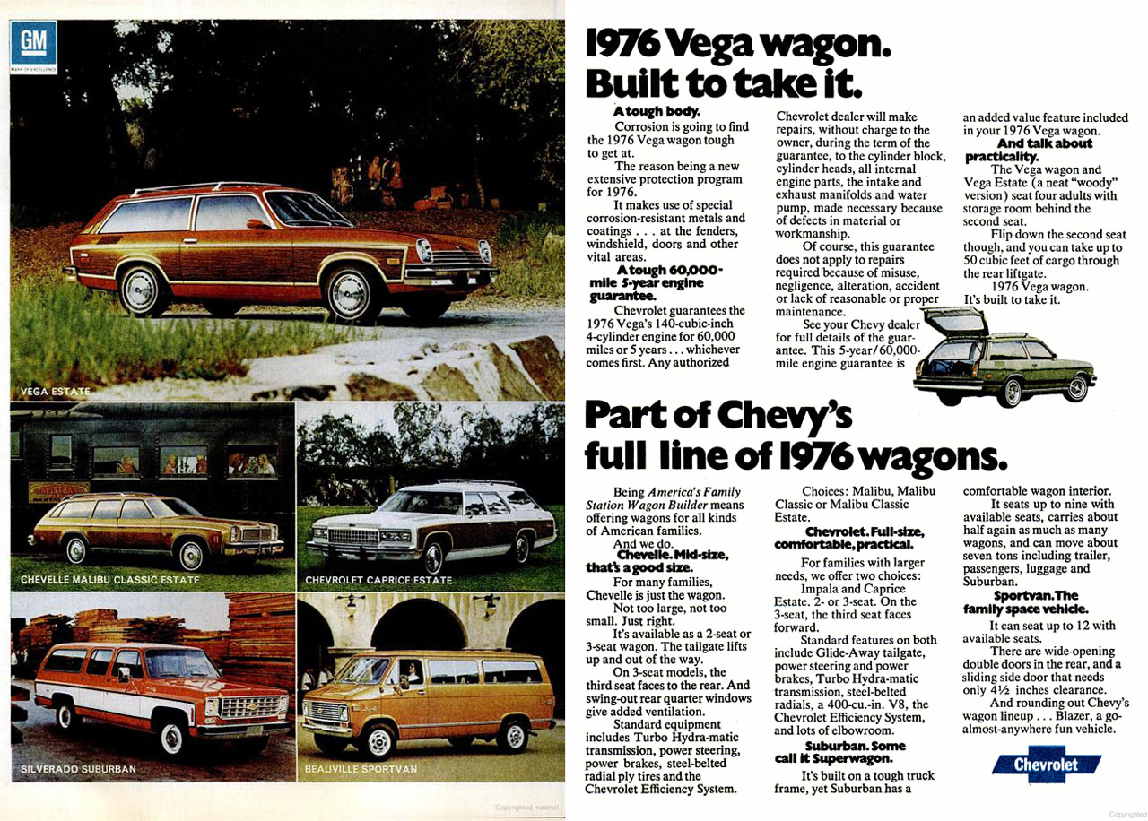1975 Chevrolet Full-Size Wagons ad