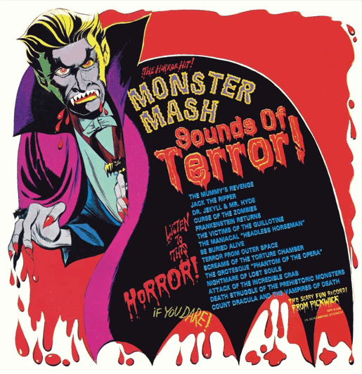 Monster Mash Sounds of Terror (1974) - Pickwick International