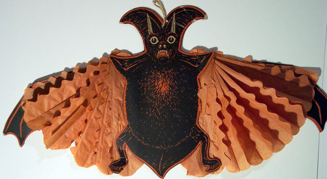 Vintage Beistle Halloween decoration - Devil Bat