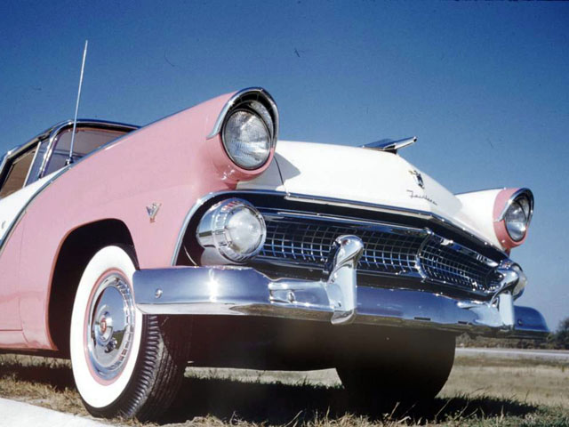 Car Capsule: Photos of the 1955 Ford and Mercury Lineup