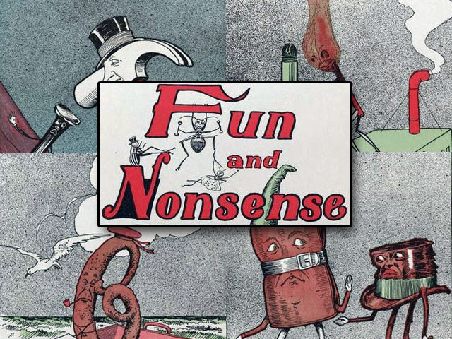 Vintage Ephemera: Fun and Nonsense by Willard Bonte (1904)