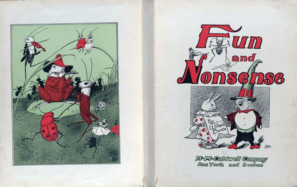 Fun and Nonsense by Willard Bonte (1904)