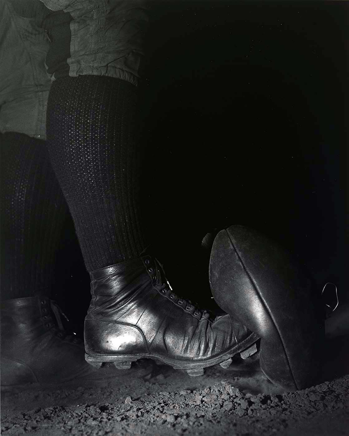 """Football Kick"" by Harold E. Edgerton, 1934"