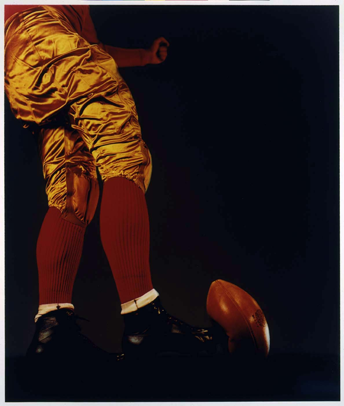 """Football Kick"" by Harold E. Edgerton, 1938"