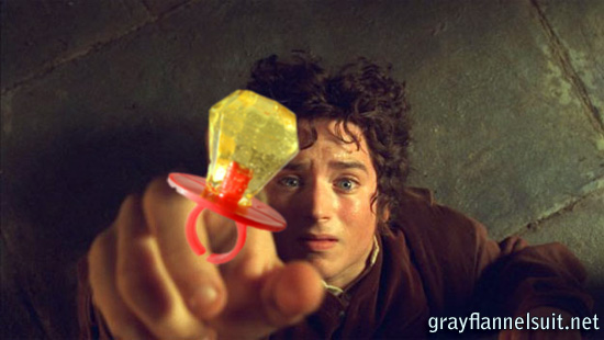 Lord of the (Candy) Rings - Frodo Baggins