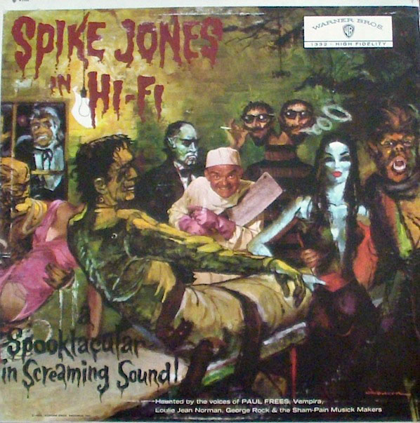 Spike Jones in Hi Fi: A Spooktacular in Screaming Sound (1959) - Warner Bros.