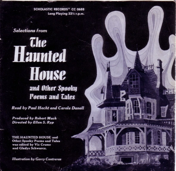 Selections from The Haunted House and Other Spooky Poems and Tales (1970) - Scholastic Records