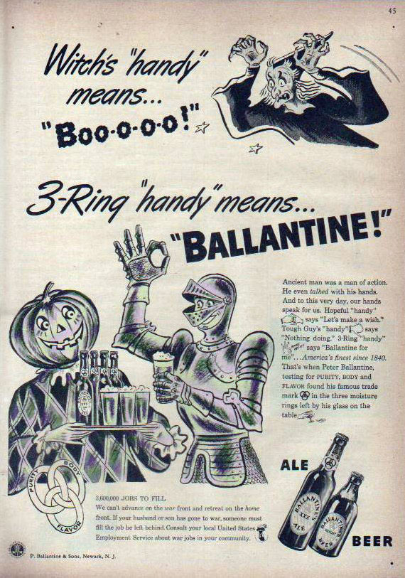 Vintage Halloween Ads.Let S Look At Some More Vintage Halloween Ads Grayflannelsuit Net