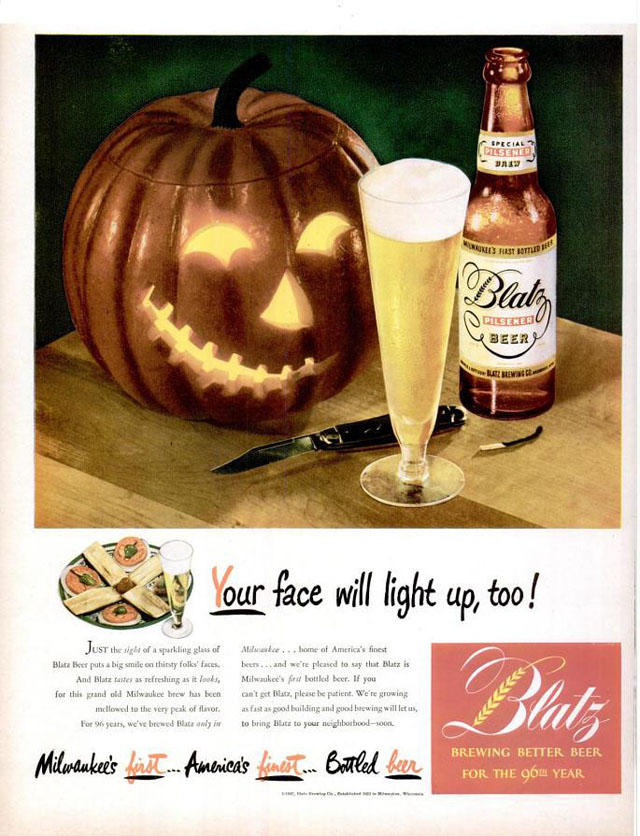 Let's Look at Some More Vintage Halloween Ads