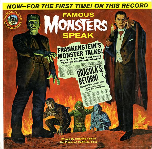 Famous Monsters Speak (1963) - Wonderland Records