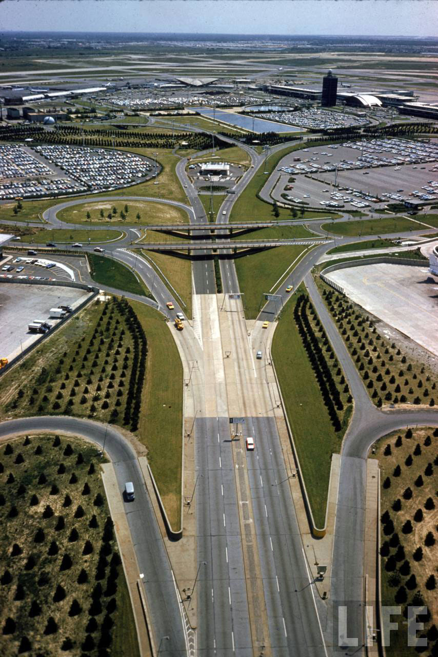 Vintage Photographs Of Idlewild Airport 1961