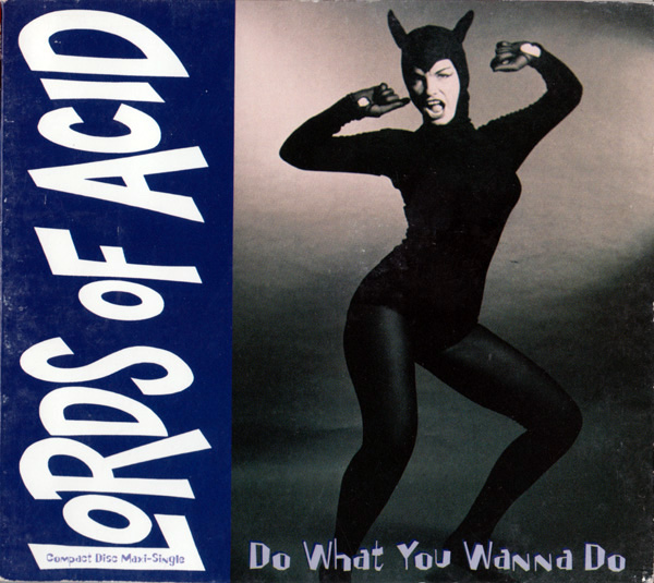 Lords Of Acid - Do What You Wanna Do (Bettie Page album cover)