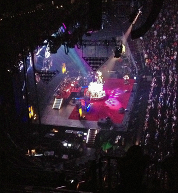 In Concert: Rush at the Prudential Center, 10/20/12