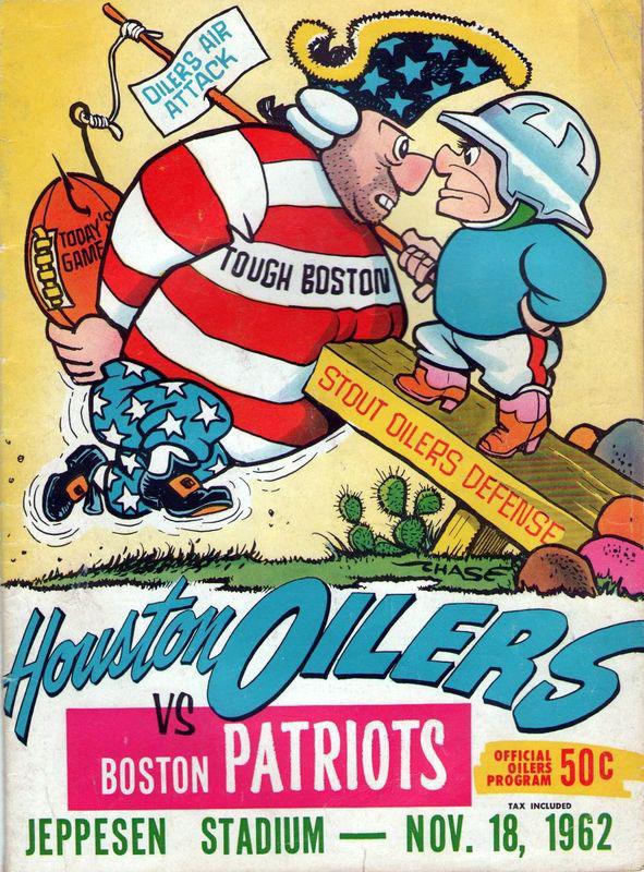 Houston Oilers vs. Boston Patriots - November 18, 1962