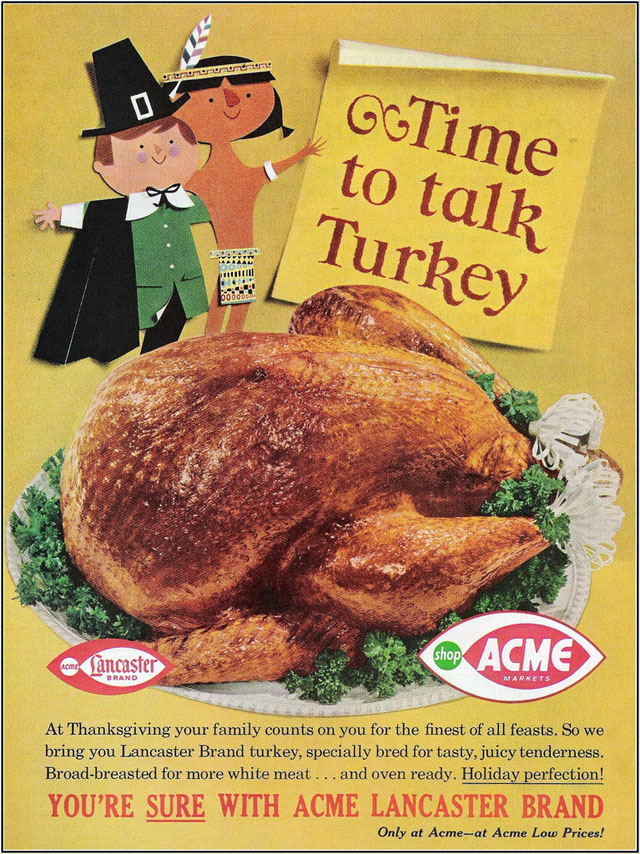 Acme Supermarket/Lancaster Turkey