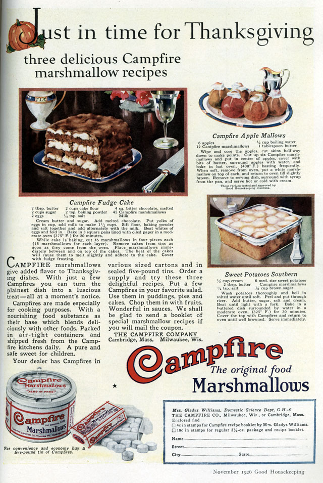 Campfire Marshmallows (1926)