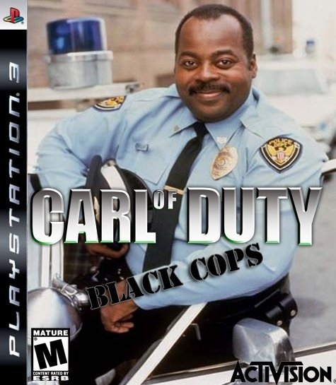The Hottest Game This Christmas? Carl on Duty: Black Cops