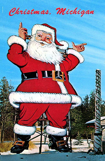 Ho Ho Ho! A Gallery of Vintage Santa & Christmas Postcards