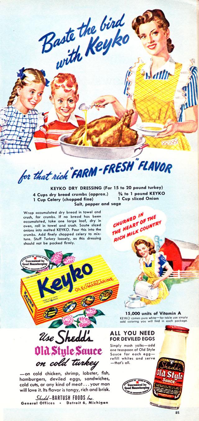 Keyko oleo margarine (1947)