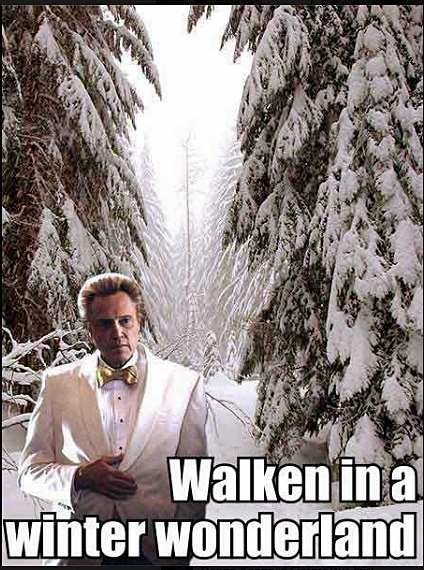 Walken in a Winter Wonderland