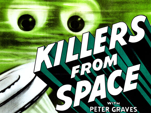 Killers from Space movie banner