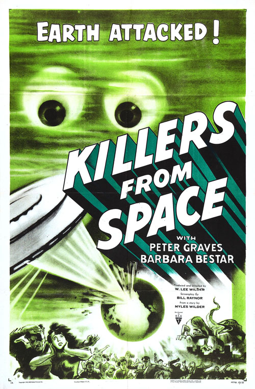 20 Great Sci-Fi Movie Posters from the 1950s ...