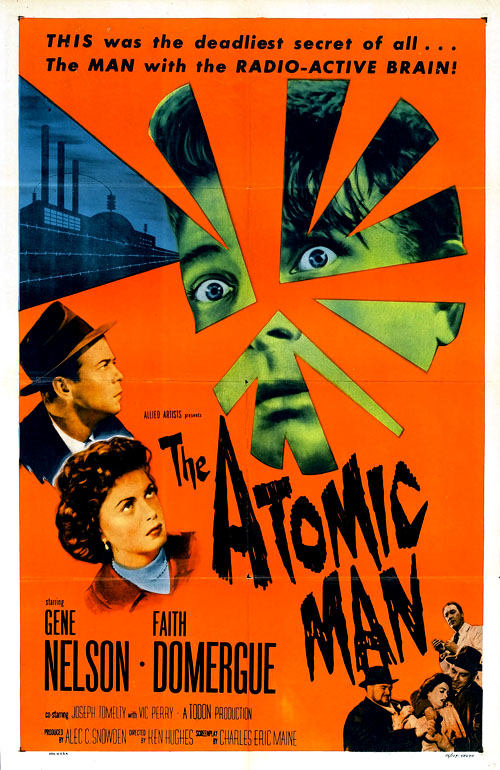 The Atomic Man (U.K.: Timeslip) (1955)