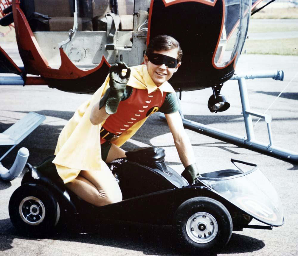 Check Out This Sweet Batman Batcycle Go-Cart from the 1960s