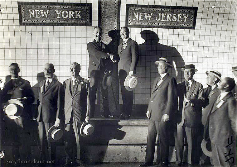 Holland Tunnel Opening, 1927