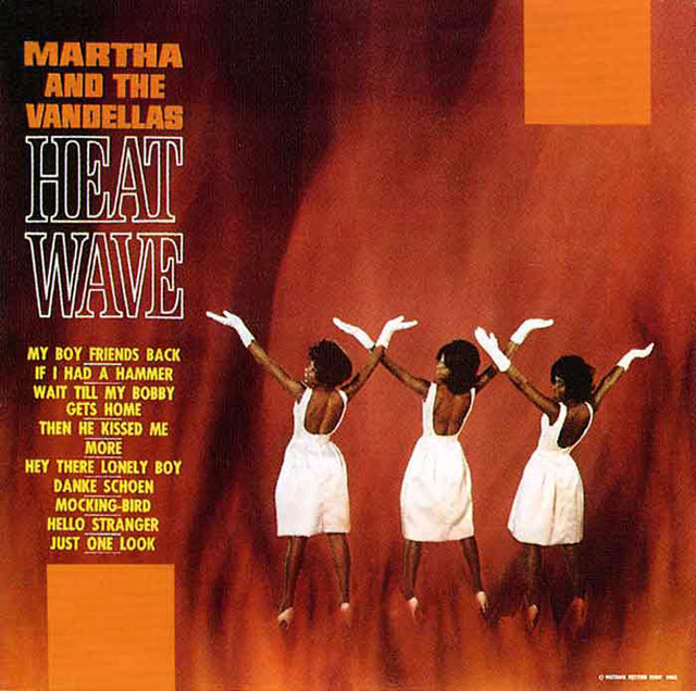 Album Cover of the Week: Martha and the Vandellas, Heat Wave