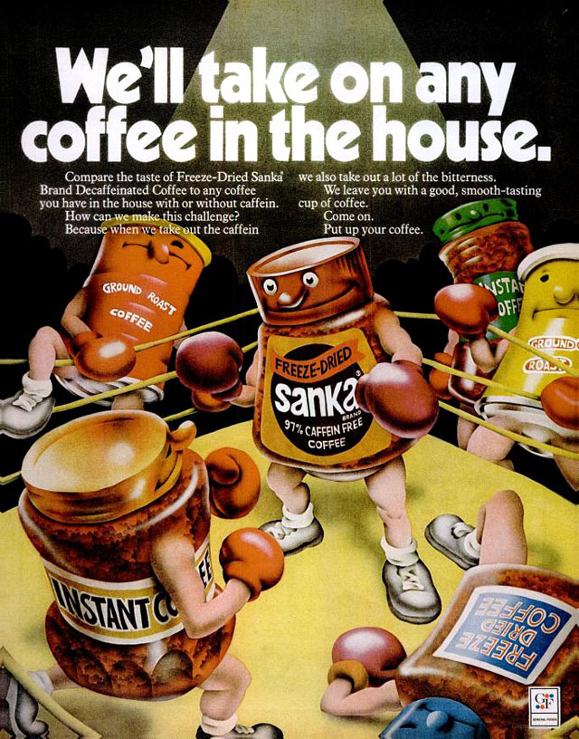 Retrotisements: Sanka Coffee Edition